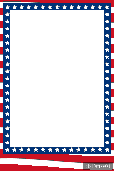 patriotic card template in horizontal and vertical formats.